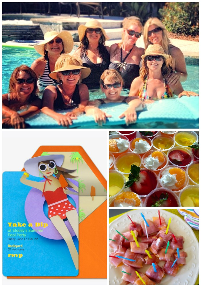 Host a Ladies' Pool Party