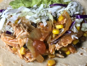 Slow Cooker Chicken Tacos Recipe