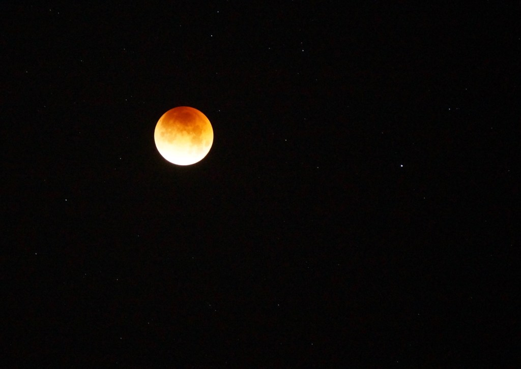 Photos of The Super Blue Blood Moon