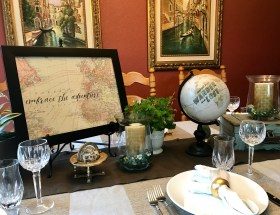 Embrace the Adventure - A Travel Theme Party