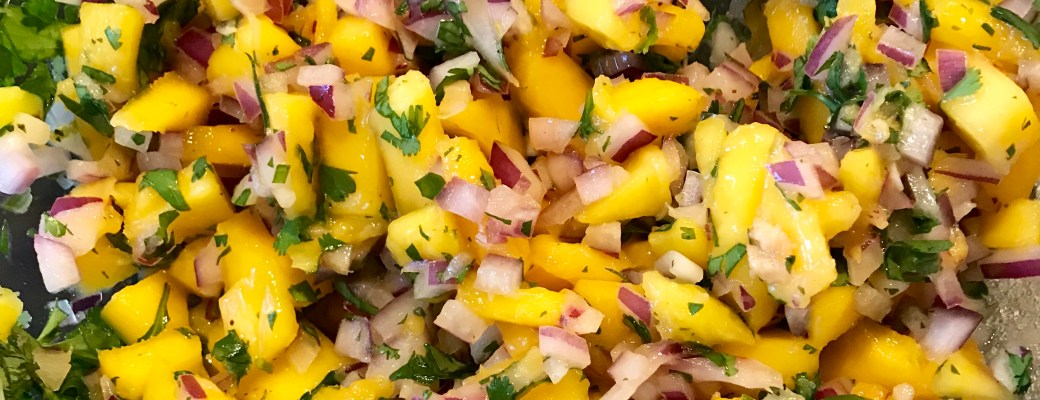 Easy Mango Salsa – Freestyle Recipe