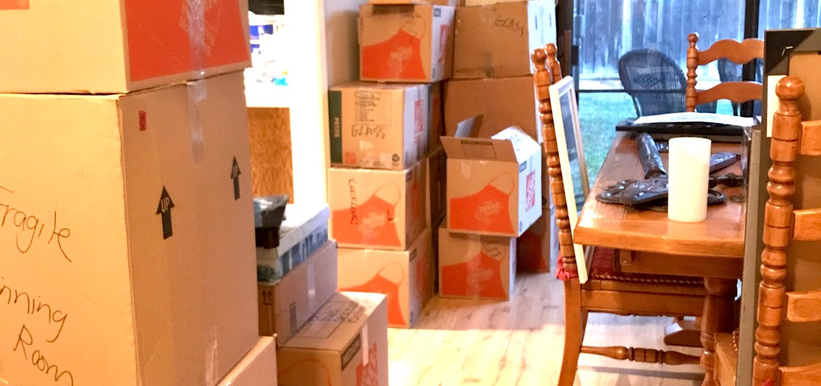 How We Decluttered and Downsized our Home