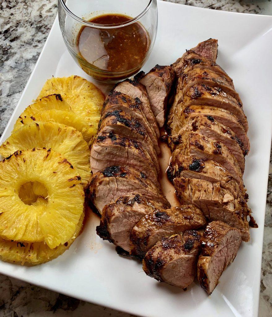 Glazed Pork Tenderloin with Pineapple Recipe