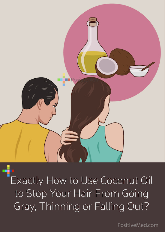 Exactly How To Use Coconut Oil To Stop Your Hair From