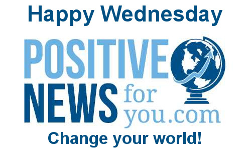 Today's Positive News Stories 1/17/18