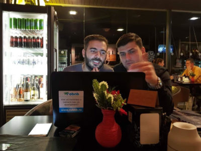 Romanian entrepreneurs create travel website to compete with
