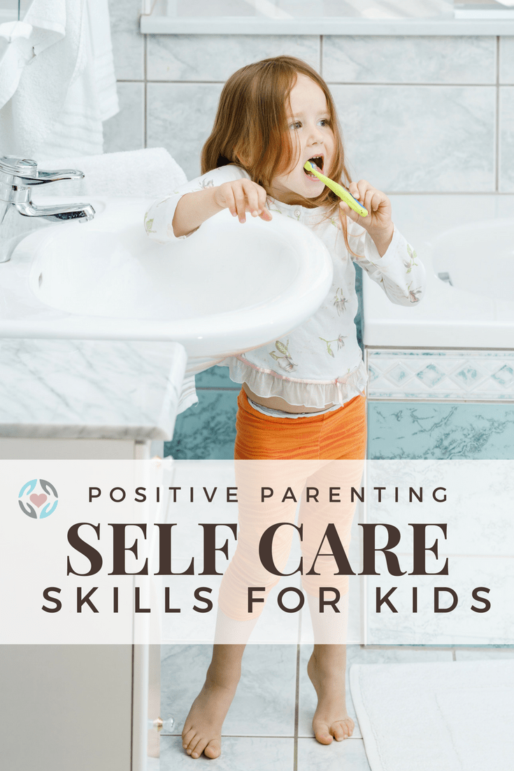 self care skills by age for children