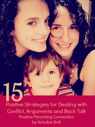 positive parenting connection: handling conflict