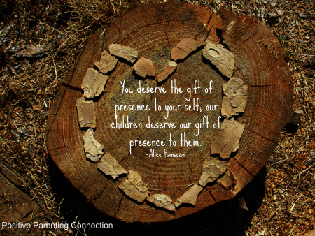 your child needs your presence