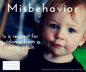 misbehavior toddlers positive parenting