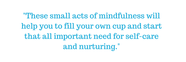 mindfulness fill own cup