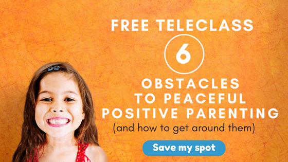 positive discipline teleclass