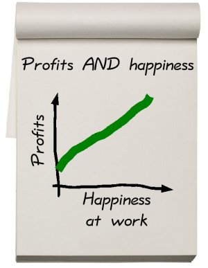 Happiness AND profits