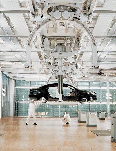 VW plant in Dresden