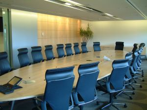 Traditional meeting room
