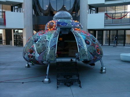 UFO at Zappos in Vegas