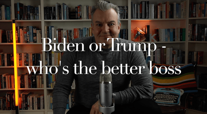 Trump or Biden – who's the better boss?