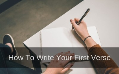 How To Write Your First Verse Step By Step