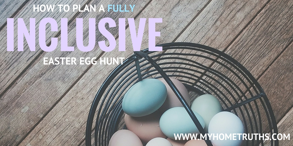 How to plan a fully inclusive Easter egg hunt