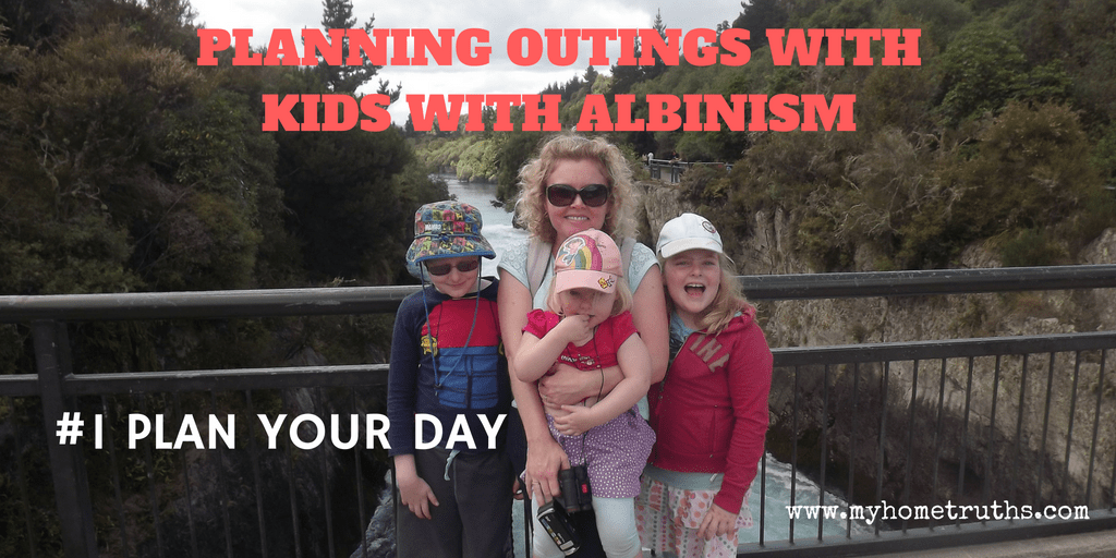 Planning outings with kids with albinism