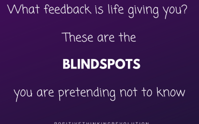 Are blindspots blocking you from the life you want?