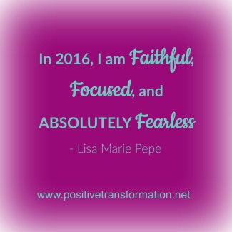 Success Requires Faith, Focus, and Fearlessness