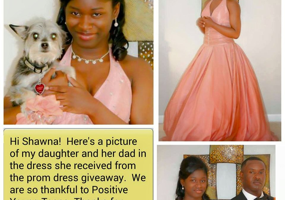 Annual Prom Dress Drive