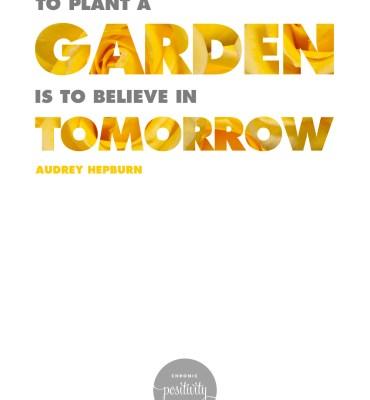 29: To Plant a Garden | Audrey Hepburn
