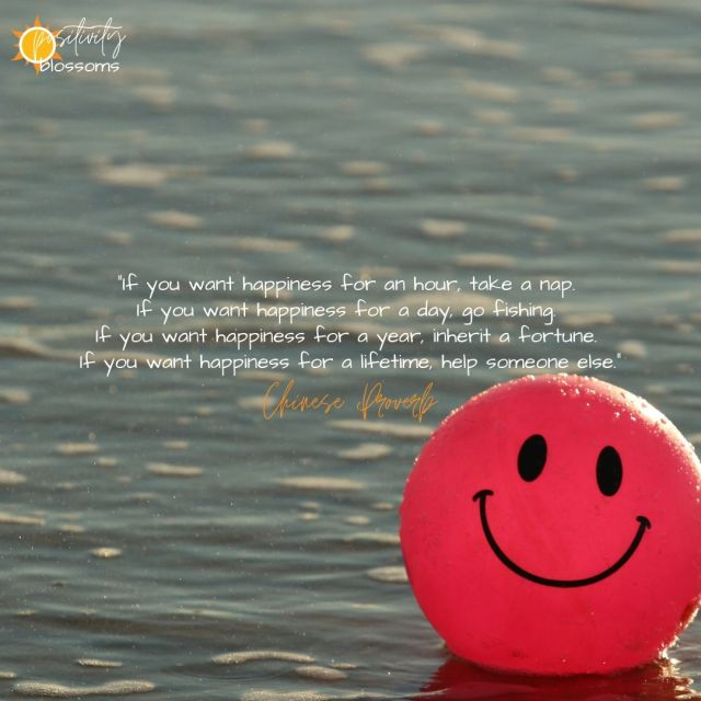 Defining happiness. If you want happiness for an hour chinese proverb quote image