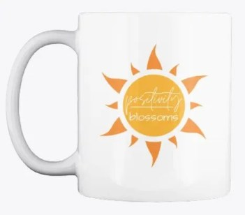 Positivity Blossoms! BeKind Coffee Mug Image