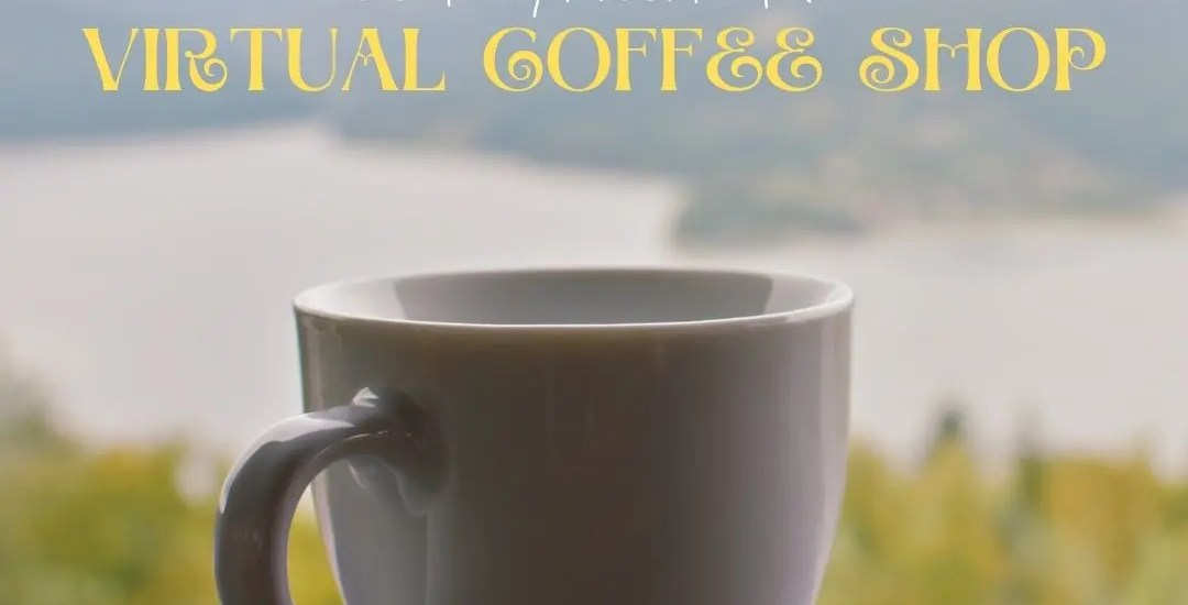 Come explore the virtual coffee shop at Positivity Blossoms! Featured image