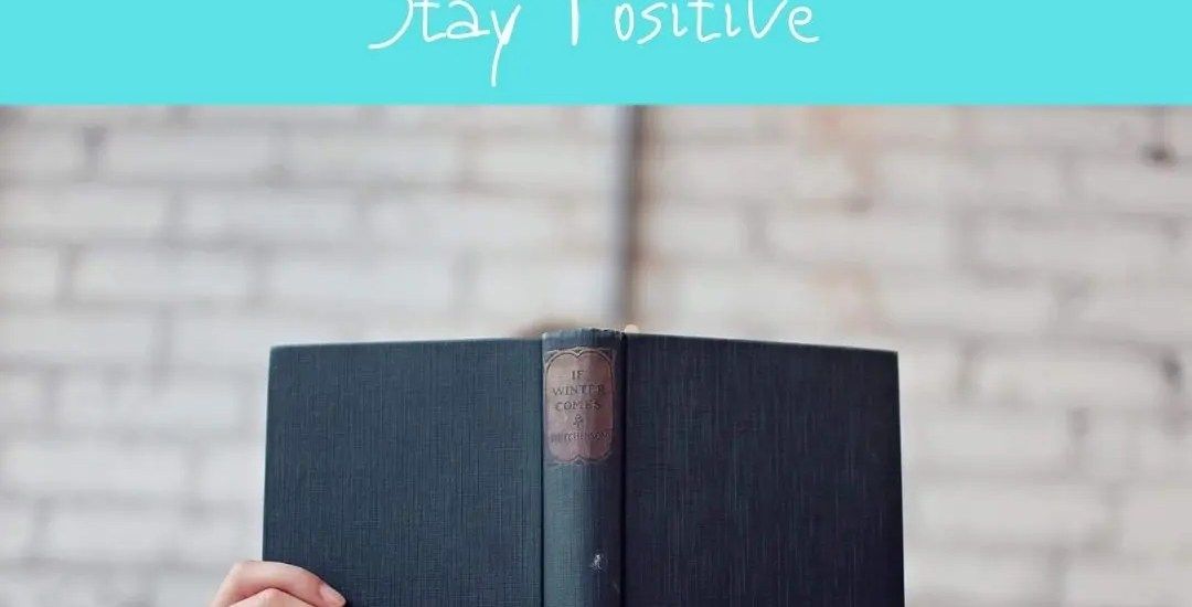 The Best Books to Read to Help Stay Positive Featured Image Positivity Blossoms