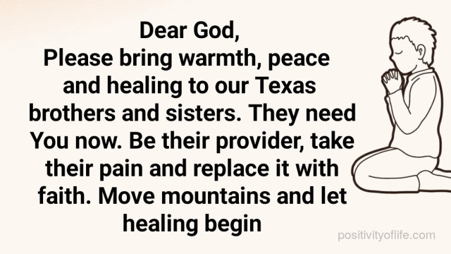 Texas prayer