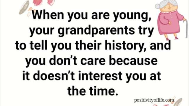 Listen to the older ones