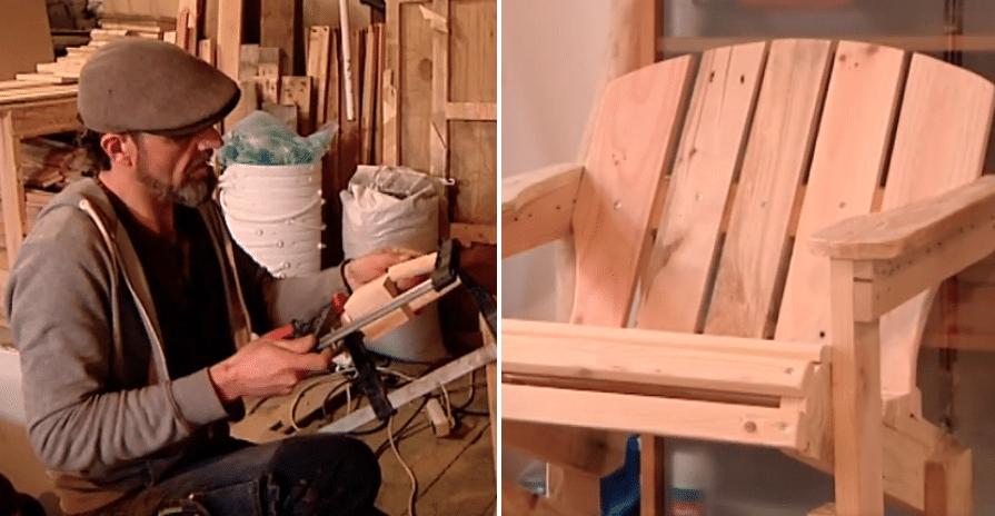 meubles en bois de palettes sont vendus
