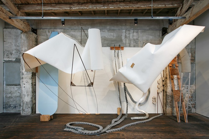 The False Spectator (2016) (Installation View, Suyama Space)