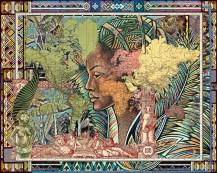 1889 Planisferio (2015) Copyright malala andrialavidrazana Courtesy AFRONOVA GALLERY