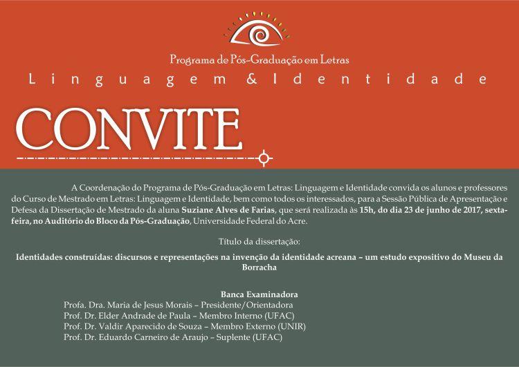 Convite Defesa Suziane
