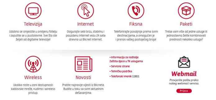 Blicnet nudi kompletan asortiman telekomunikacijskih usluga