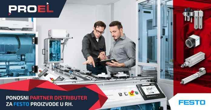 Tvrtka FESTO ima novog partnera distributera u Hrvatskoj
