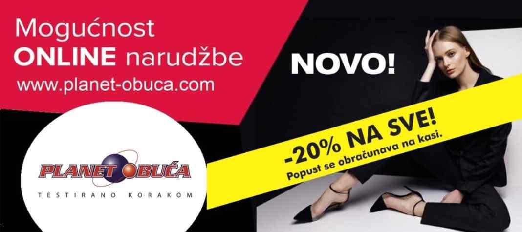 Planet obuća Travnik - Od danas akcija popusti od -20% na sve