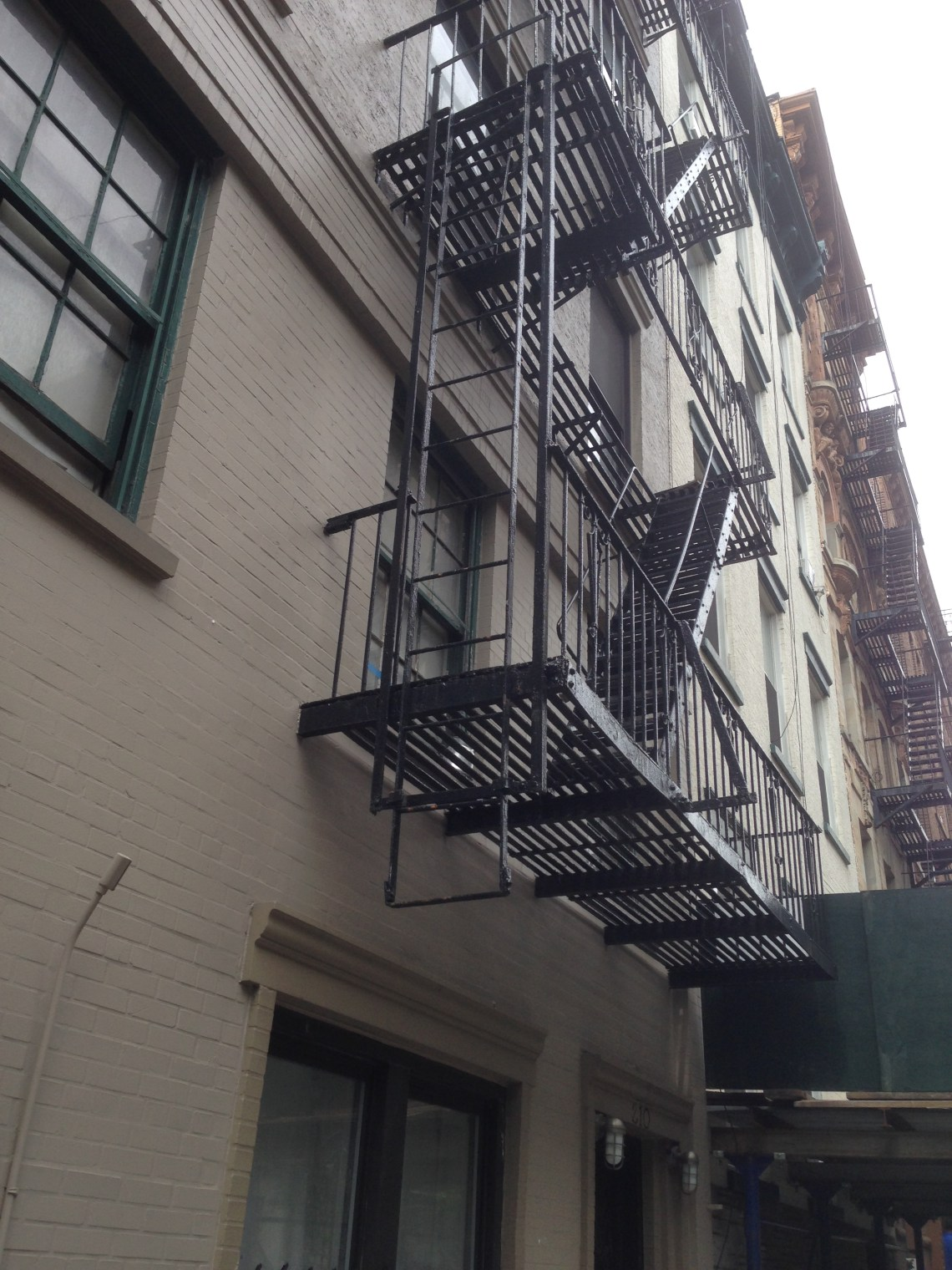 Image Result For New York Fire Stairs