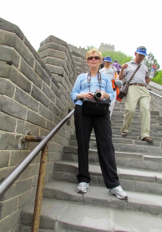 Karen Great Wall looking down - 1