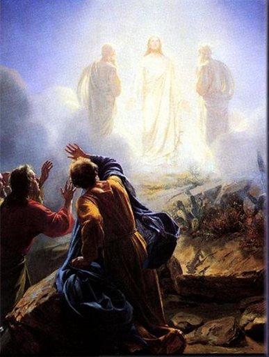 Jesus is Transfigured into Light