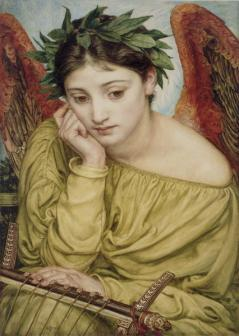 Erato, the muse of poetry