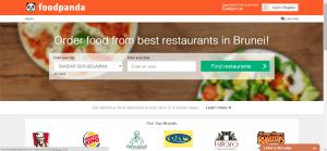 foodpanda - website - not logged