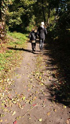 Schummelbild - Herbstspaziergang von gestern.
