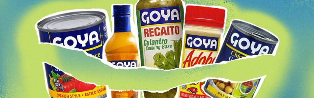 Goya: I Won't Sell Out for a Can of Beans.