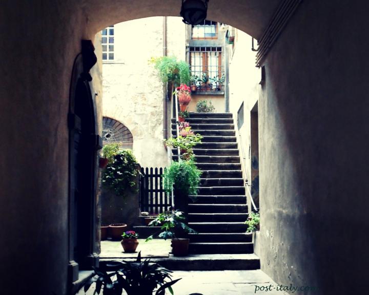 beco em Orvieto