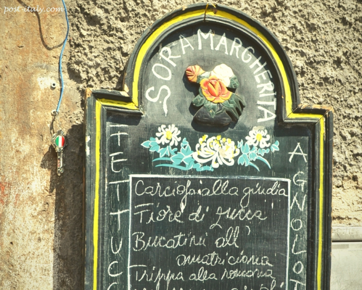 restaurante sora margherita em Roma